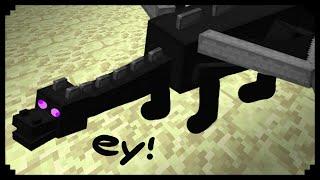 getlinkyoutube.com-✔ Minecraft: How to make an Ender Dragon Statue