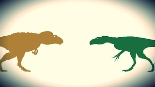 getlinkyoutube.com-PDFT - Daspletosaurus vs Marshosaurus