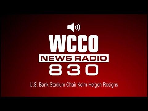 U.S. Bank Stadium Chair Kelm-Helgen Resigns (Audio)