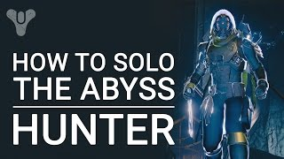 Destiny: Solo The Abyss in Crota's End as Bladedancer Hunter