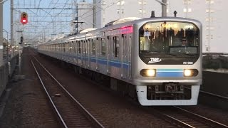 getlinkyoutube.com-【FHD】東京臨海高速鉄道りんかい線 東雲駅にて(At Shinonome Station on the TWR Rinkai Line)