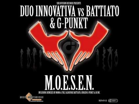 Duo Innovativa Vs. Battiato & G-Punkt - M.O.E.S.E.N. (Jürgen G-Punkt Radio Edit)