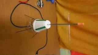 getlinkyoutube.com-Coat-Hanger UHF TV Antenna [ GROUND PLANE]