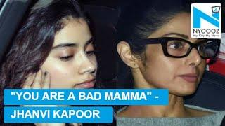 Jhanvi Kapoor Did Not Talk To Sridevi For 3 Days | NYOOOZ TV