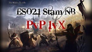 getlinkyoutube.com-ESO 2.1 Stamina Nightblade PvP 1vX #12