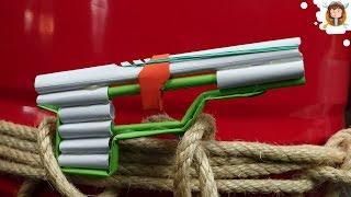getlinkyoutube.com-How to Make a Pistol - (Paper Gun)