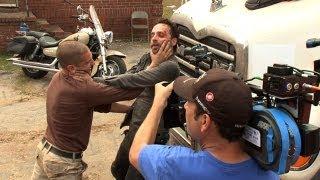 getlinkyoutube.com-Rick and Shane's Fight Episode 210: Inside The Walking Dead