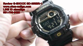 getlinkyoutube.com-Review CASIO G-SHOCK GD -350BR-1 by www.siam-naliga.com