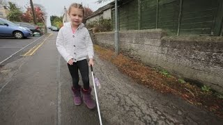 getlinkyoutube.com-Blind girl banned from using cane at school due to Health & Safety