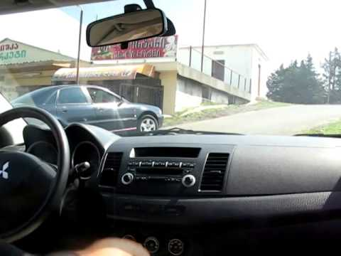 Mitsubishi Lancer X ride