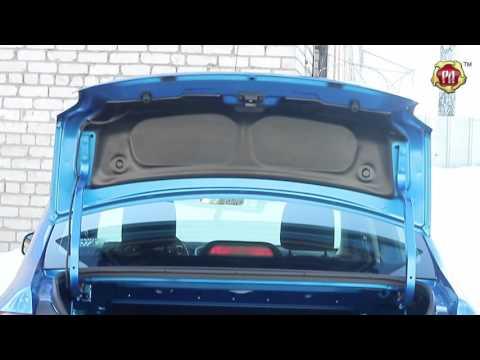 Обшивка внутренней части крышки багажника Renault Logan 2014- (russ-artel.ru)