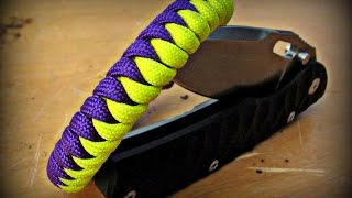 getlinkyoutube.com-Paracord Snake Knot