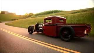 """getlinkyoutube.com-""""Rum Runner""""  1933 Ford Traditional Hot Rod Street Rat Rod Pickup Truck FOR SALE"""