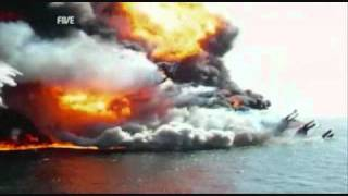 Rare Deepwater Horizon sinking video with sound