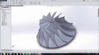 getlinkyoutube.com-How to draw a turbo compressor wheel in solidworks