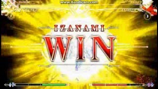 getlinkyoutube.com-[BBCF] Izanami VS Ragna (With new VS Theme)