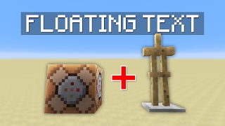 getlinkyoutube.com-How to Easily Make Floating Text in Minecraft
