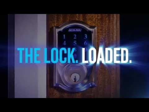 Schlage Touchscreen Deadbolt Overview