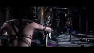 getlinkyoutube.com-Mortal Kombat X - Mileena vs Kitana