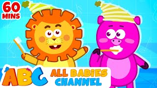 getlinkyoutube.com-This Is The Way We Brush Our Teeth | Nursery Rhymes | Songs for Children | All Babies Channel