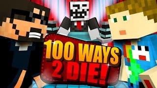 Minecraft: 100 WAYS TO DIE CHALLENGE - DO YOU EVEN VANILLA BRO [1]
