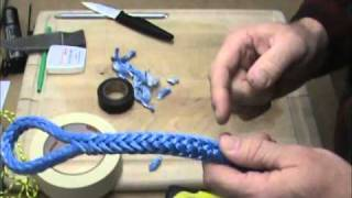 getlinkyoutube.com-Creating a fixed eye in your Amsteel Blue Winch Line
