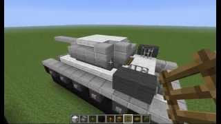 getlinkyoutube.com-minecraft como hacer un T-34/85