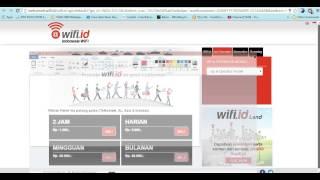 getlinkyoutube.com-Akun Free WIFI.ID Gratis tis tis 100% WORK ,, SUWER (Free akun WIFI SELAMANYA)