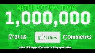 getlinkyoutube.com-Get Unlimited LIKES on Facebook Status & Comments For Free [2015 HD]