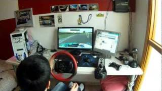 getlinkyoutube.com-LFS - G25 Drifting with Real wheel