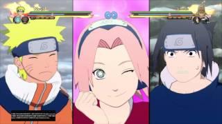 NARUTO SHIPPUDEN: Ultimate Ninja STORM 4 technique naruto sasuke sakura  enfant