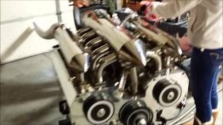 getlinkyoutube.com-12 Rotor Engine Running- Different Angles