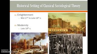 Classical Theory, Modernity, and Enlightenment
