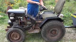 getlinkyoutube.com-Самодельный трактор от Земляка