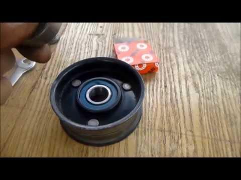 Ремонт ролика натяжителя ремня генератора