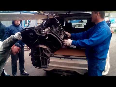 Отгрузка контрактного двигателя G6CU Hyundai Terracan