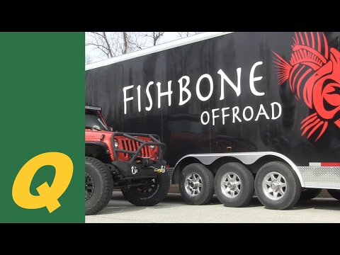 Fishbone Offroad Bumpers and Armor For Jeep Wrangler