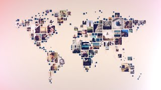 getlinkyoutube.com-Mosaic World Collage | After Effects template