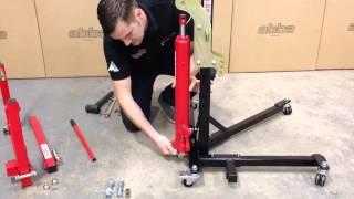 getlinkyoutube.com-Abba Sky Lift Assembly Instruction Video - SkyLift motorcycle lift / stand