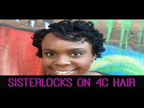 SisterLocks on 4C Hair: Length Check, Consultation, Installation & Styling