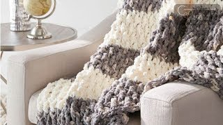 getlinkyoutube.com-How to Crochet Blanket: Lush Life Afghan