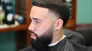 getlinkyoutube.com-High skin taper with blended beard
