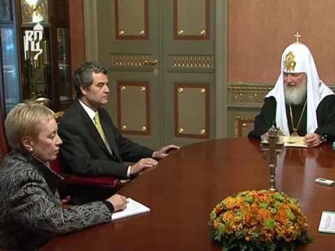 Патриарх Кирилл встретился с Послом Республики Чили