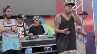 getlinkyoutube.com-Freestyle MORDEKAI + CARLITOS + KLIBRE + DIDIER - Hip Hop on the Beach 2015