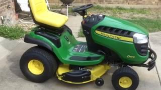 getlinkyoutube.com-John Deere D130 Lawn Tractor
