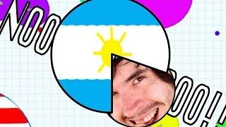 getlinkyoutube.com-ARGENTINA ME QUIERE COMER!! | Agar.io - JuegaGerman