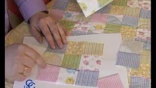 getlinkyoutube.com-Retales o patchwork, como hacer una colcha, cojines o mantas