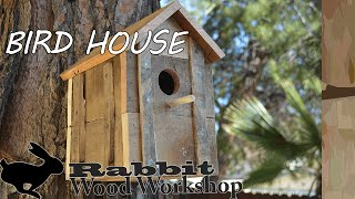 getlinkyoutube.com-Rustic Bird house from Pallet wood
