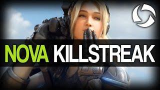 getlinkyoutube.com-Heroes of the Storm - Nova 41 Killstreak (Alpha)