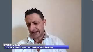 COMITATO PROVINCIA MAGNA GRECIA  DOMENICO MAZZA SU PROBLEMI DELL'AREA MAGNOGRAECA
